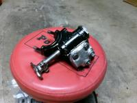 Steering box and master cylinder