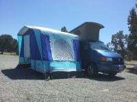 1999 Eurovan TDI with side tent