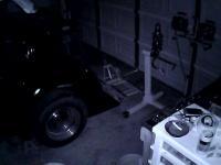 night vision garage shot