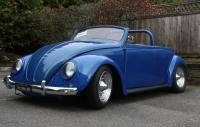 1964 custom convertible VW Beetle