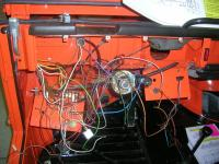 VW Thing Gauge Harness