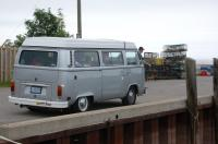 78 Westy with lobster traps