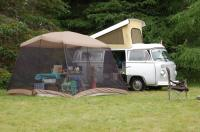 78 Westy with Kitchen tent