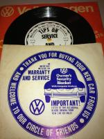 VW Dealership or Factory Record