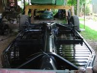 Chassis topside painted