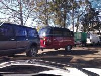 Kombi caravan down under