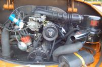 Late '69 signal orange Ghia convertible