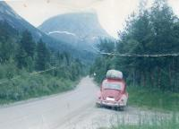 The road to northern Norway, 1968