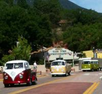 Buses at the brewery Colorado Springs 2013