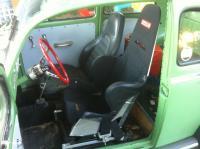 Kirkey intermediate road race seat in my Subaru Bug Autocross car