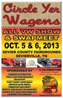 Circle Yer Wagens Poster