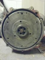 210mm flywheel in 200mm 002 bellhousing