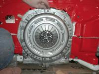 228mm clutch kit on 210mm flywheel.