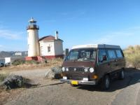 Coquille River Lighthouse & VW