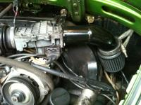 Custom intake for a Fuel Injected bug