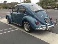 Stolen 1966 Sea Blue Sedan