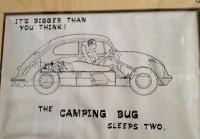 Bug Camper artwork - smaller image