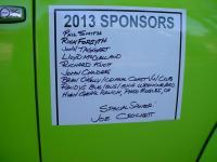 Sponsor list