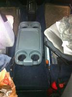 Honda Odyssey cup holder with swivel seat capability