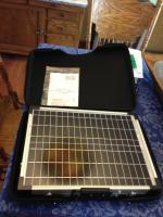 40watt Solar Panel & Case