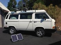 Added 40watt Solar to my 1987 Syncro Camper
