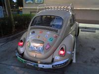 All original bug with Gradulux rear Blinds