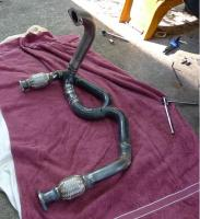 Exhaust header - T4