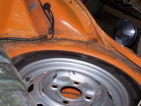 L20B orange 1973 paint