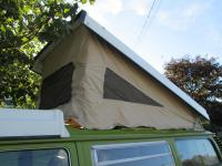 Just Kampers canvas install