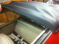 Perohaus wind deflector for ragtop