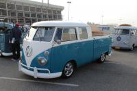 Blue / White Double Cab