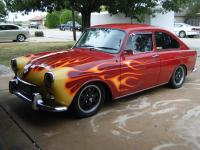 1969 VW fastback flamer