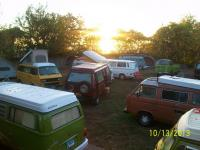 VW group camping sunrise transporterfest 2013