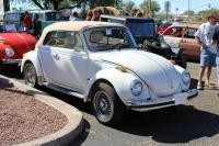 White Convertible Beetle