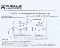 Wolfsburg West 9 pin relay instructions