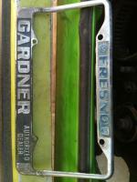 Gardner Dealer Frame