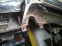 Front bastard bay beam removed.