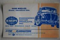 Empi Business card