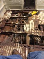 rusty floor repair