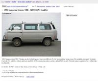 1990 Vanagon Syncro for $25k