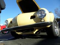 Lowlight Karmann Ghia body on a shortened Chrysler New Yorker chassis