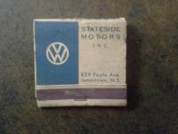 VW Matchbook Jamestown NY