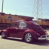 ALERT Poison Berry '56 VW STOLEN