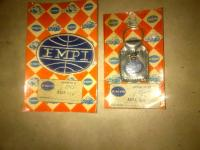 NOS vintage EMPI patch and keychain