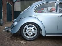 New wheels under the bug