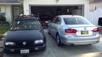 My fleet of VWs