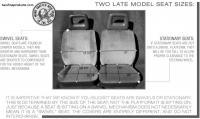 Vanagon Seat Types