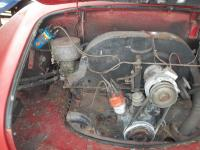 1971 Karmann Ghia A/C system installed by PO