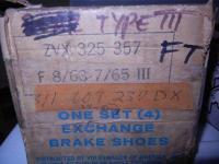 Type 3 brake shoes