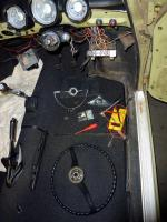 Grünhilde - Step seven, steering column issues, electrics and wiring